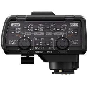 Panasonic LUMIX GH5(S) XLR mikrofónny adaptér