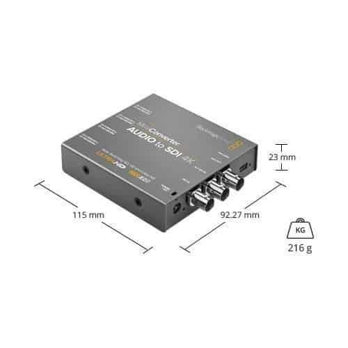 Blackmagic Mini Conventer Audio to SDI 4K