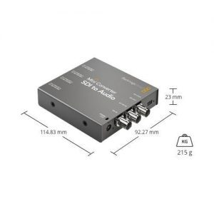 Blackmagic Mini Conventer SDI to Audio