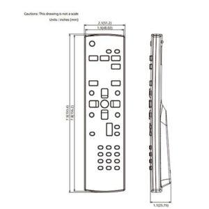 Panasonic TY-RM50VW