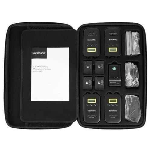 Saramonic VmicLink5 mikroport set 3 TX/1 RX