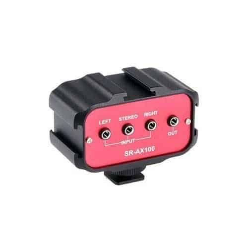 Saramonic SR-AX100 audio adaptér