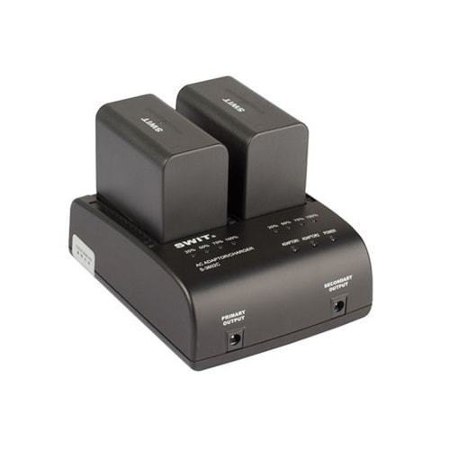 SWIT S-3602C dvojkanálová nabíjačka batérií Canon BP