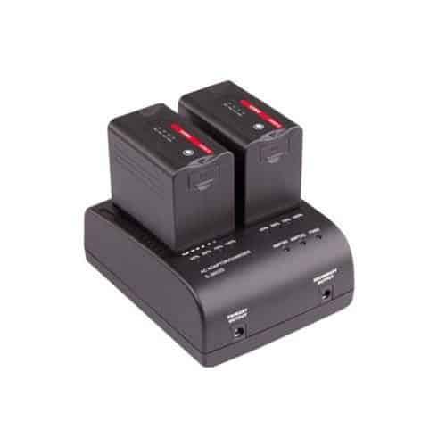 SWIT S-3602D dvojkanálová nabíjačka batérií Panasonic VW-VBD