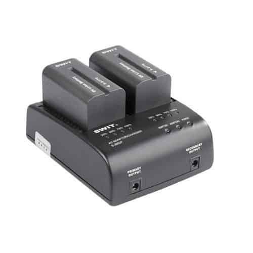 SWIT S-3602F dvojkanálová nabíjačka batérií Sony NP-F