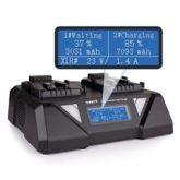 SWIT S-3812S dvojkanálová paralelná V-mount rýchlonabíjačka s LCD