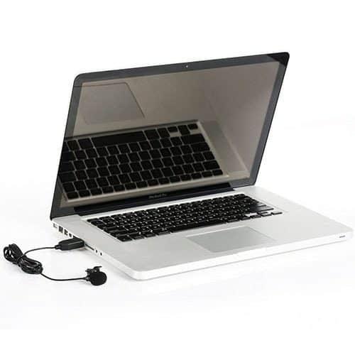 Saramonic SR-ULM5 lavalierový mikrofón pre PC a Mac