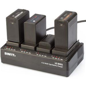 SWIT LC-D420 multi nabíjačka 7,2V