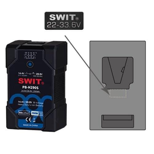 SWIT PB-H290S Bi-voltage