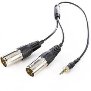 Saramonic SR-UM10-CC1 kábel stereo jack na 2x XLR