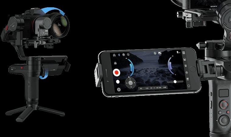 Zhiyun Weebill LAB elektronický stabilizátor pre mini kamery a DSLR