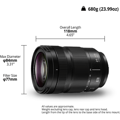 Panasonic Lumix S 24-105mm/F4,0 Macro OIS