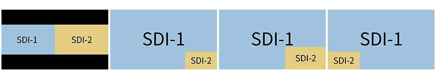 "SWIT FM-24DCI 24"" Monitor DCI-P3 Gamut Post Production Monitor"