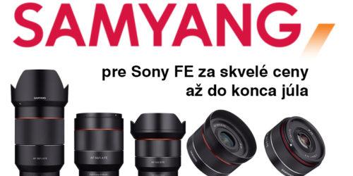 Objektív Samyang pre SONY FE