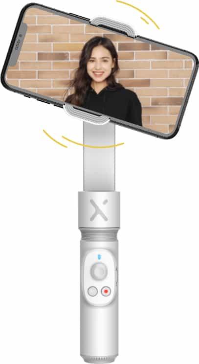 Zhiyun Smooth-X Essential Combo elektronický stabilizátor pre smartfón (biely)