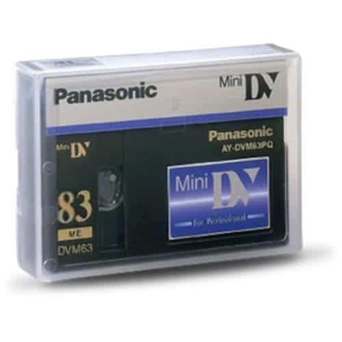 Panasonic SQ miniDV kazeta 83 min (výroba ukončená)