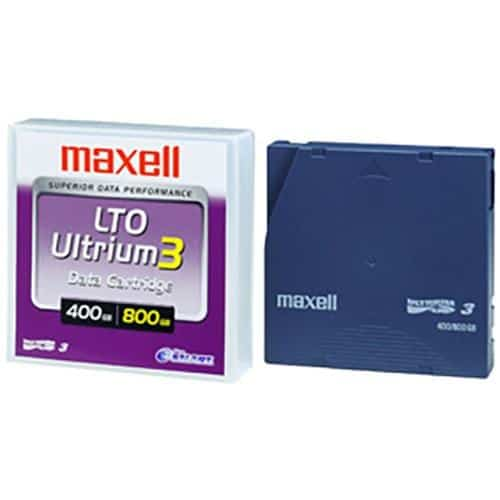 Maxell LTO Ultrium3 kazeta
