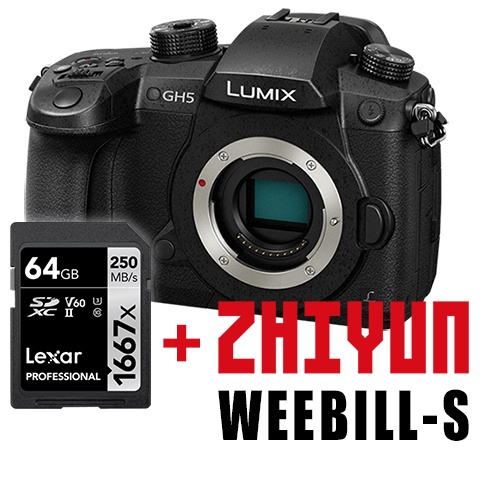 Panasonic LUMIX DC-GH5 - telo