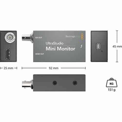 Blackmagic UltraStudio Mini Monitor (výroba ukončená)