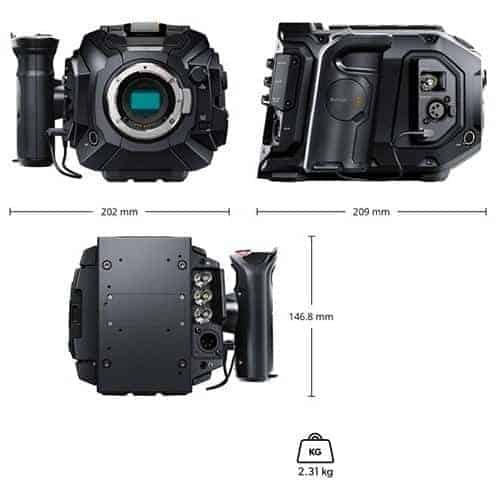 Blackmagic URSA Mini Pro 4.6K