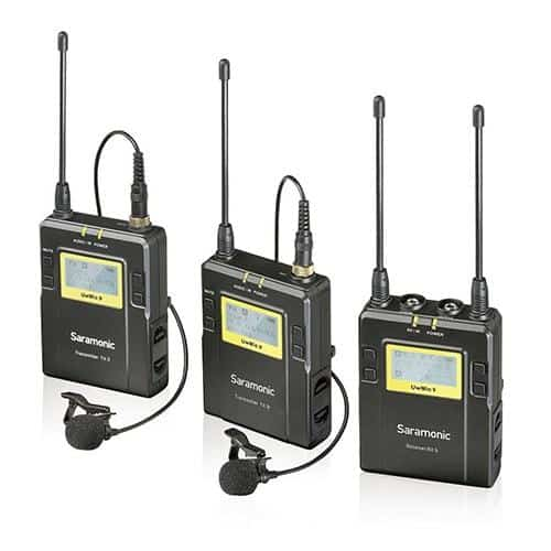 Saramonic UwMic9 mikroport set 2 TX/1 RX