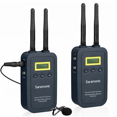 Saramonic VmicLink5 HiFi mikroport set 1 TX/1 RX
