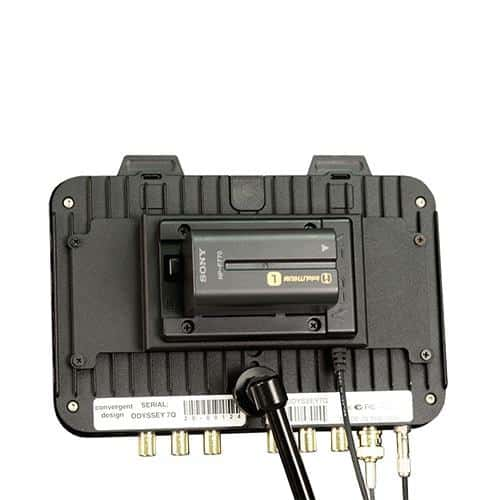Convergent Design Battery Plate for Panasonic CGA-series