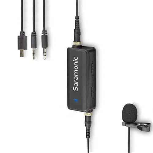 Saramonic LAVMic lavalierový mikrofón pre smartfóny, DSLR a GoPro