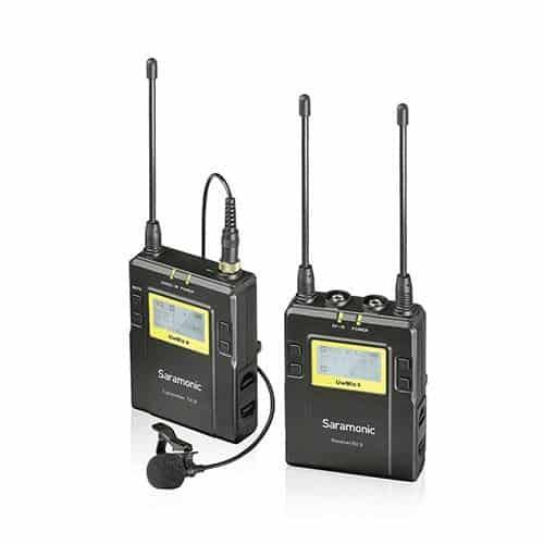 Prenájom - Saramonic UwMic9 mikroport set 1 TX/1 RX