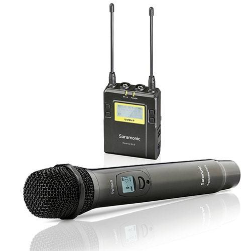 Prenájom - Saramonic UwMic9 mikroport prijímač + HU9 hand mikrofón