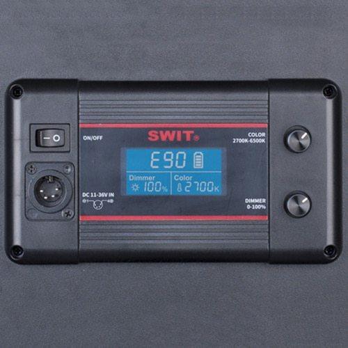 SWIT PL-E90 3-kit so statívmi v transportnom kufri