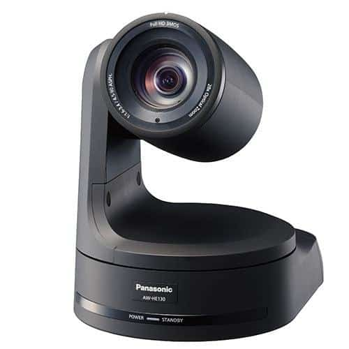 Panasonic AW-HN130K robotická PTZ kamera (čierna)