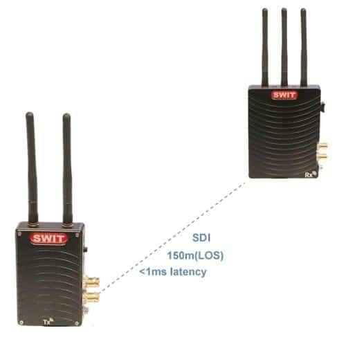 SWIT CW-SH150 SDI/HDMI 150m Wireless System