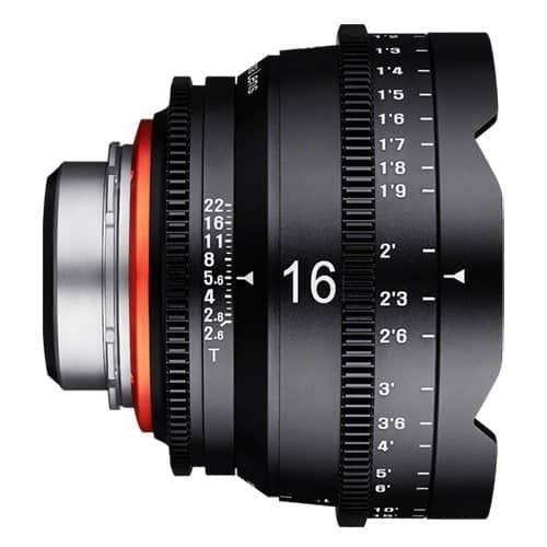 XEEN 16mm T2.6 CINE - PL