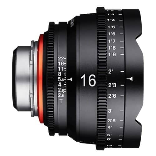 XEEN 16 mm T2.6 FF CINE - EF