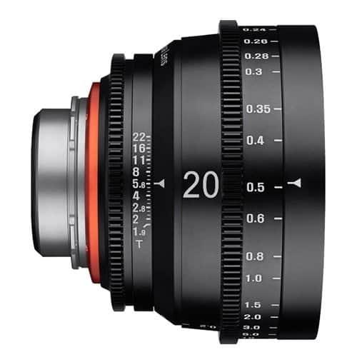 XEEN 20 mm T1.9 CINE - PL