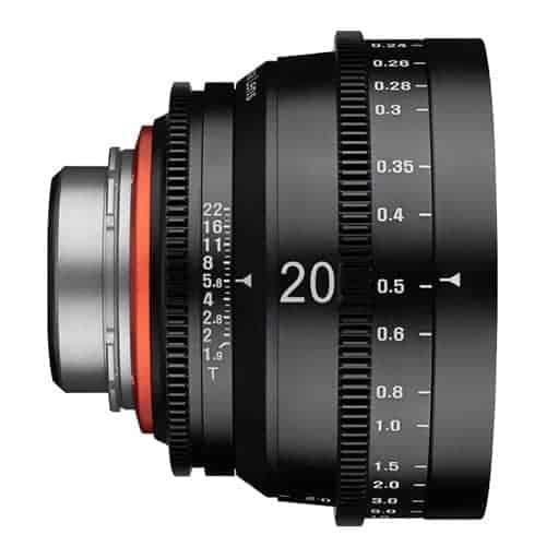 XEEN 20 mm T1.9 CINE - MFT