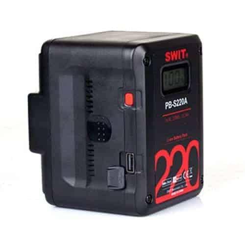 SWIT PB-S220A CINEMA Gold-Mount batéria so 4x D-TAP