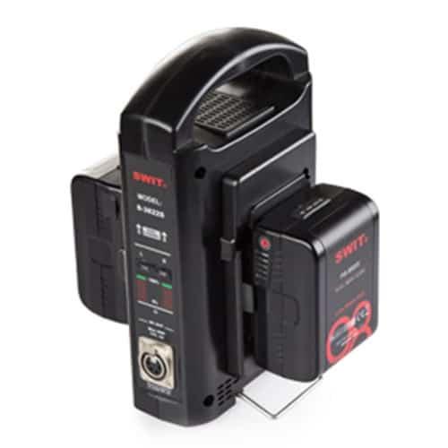 Výhodný set 2x mini V-mount batéria SWIT PB-M98S a sekvenčná nabíjačka SC-302S