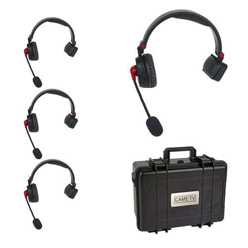 CAME-TV Waero Headset 4 KIT bezdrôtový intercom