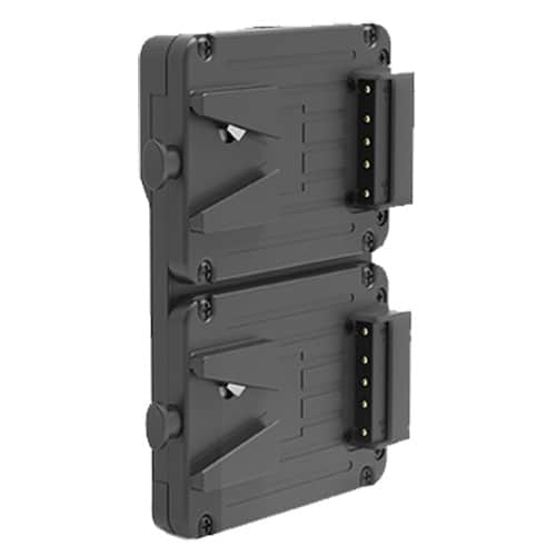 SWIT KA-M20S Hotswap V-mount plate for dual Pocket Mini Batteries