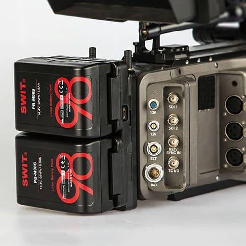 SWIT KA-M20S Hotswap V-mount plate for dual Pocket Mini Batteries