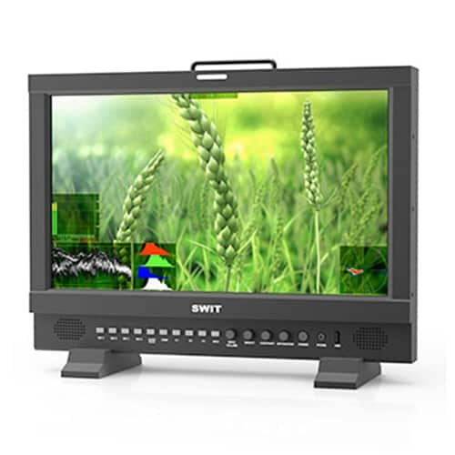 "SWIT BM-U173 17"" TRUE 4K 12G-SDI HDR Zero-Delay Monitor"