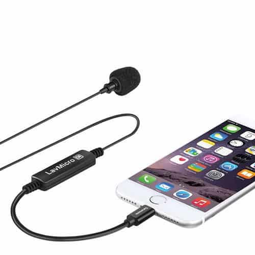 Saramonic LavMicro Di klopový (lavalierový) mikrofón pre iPhone/iPad