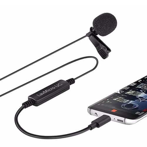 Saramonic LavMicro UC klopový (lavalierový) mikrofón pre USB-C zariadenia