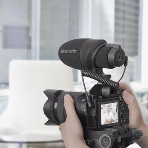 Saramonic CamMic kondenzátorový mikrofón pre DSLR a kamery (plug-in power)