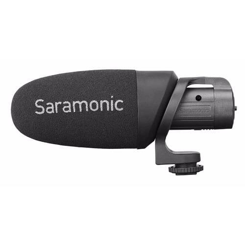 Saramonic CamMic+ kondenzátorový mikrofón s batériou
