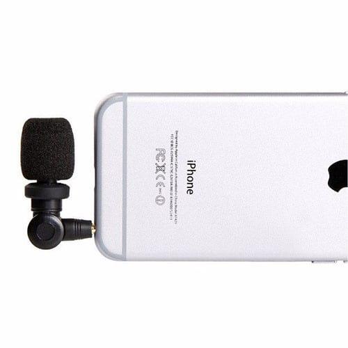 Saramonic SmartMic kondenzátorový mikrofón pre smartfóny s kardioidnou charakteristikou
