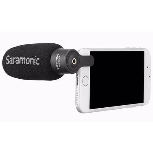 Saramonic SmartMic+ mikrofón pre smartfóny s kardioidnou charakteristikou