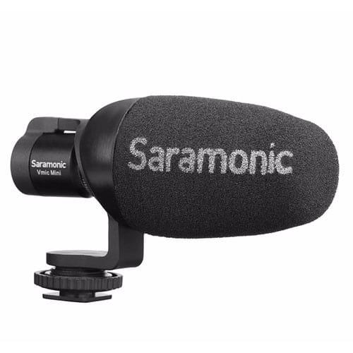Saramonic Vmic Mini kondenzátorový shotgun mikrofón pre DSLR a smartfóny